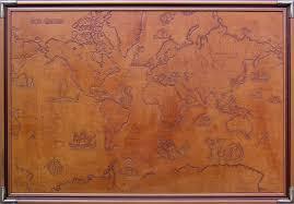 leather map leather carvings owl s gallery