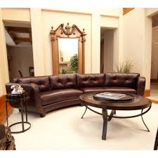 round sectional couch furniture round sectional sofa luxury furniture brown leather