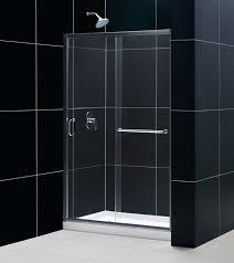 48 In Shower Door 48 X 36 Dreamline Dl 6975 Infinity Z Frameless Sliding Shower