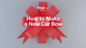 bows for cars presents how to make a new car bow