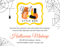 Non Comedogenic Halloween Makeup by Cosmetics Y U0026l Style Bar