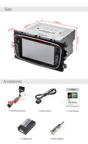 ford focus mondeo s max 2 din android 6 0 car dvd stereo gps sat