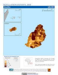 Micronesia Map Maps Population Density Grid V1 Sedac