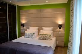 diy panel headboard modern leather upholstered wall stylish panels double bed