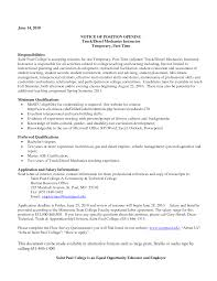 exle of a college resume diesel mechanic installation repair modern heavy resume sle
