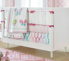 Pottery Barn Kids Crib Bedding Lucy Butterfly Baby Bedding Sets Pottery Barn Kids