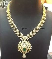 new diamond necklace images New diamond necklace from kotharis jewellery indian bridal jpg