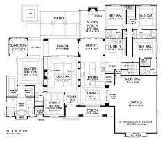 2500 Sq Ft Ranch Floor Plans Best 25 5 Bedroom House Plans Ideas Only On Pinterest 4 Bedroom