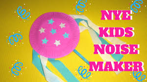 noise maker new year u0027s eve craft youtube