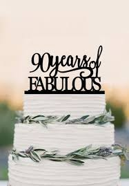 90th of fabulous cake topper acrylic birthday cake topper 90th