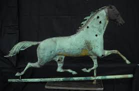 Horse Weathervane On Stand Weathervanes