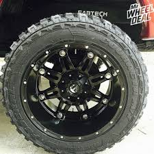 Customer Best Recommendation 35x14 50x20 Tires 20 12 Fuel Hostage Black Wheels With 33 12 50r20 Federal Couragia