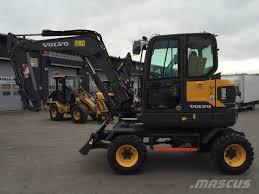 volvo usa used volvo ew60e uusi wheeled excavators year 2017 price 82 503