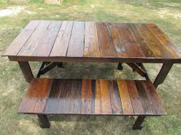 reclaimed wood outdoor table reclaimed wood garden furniture ideas 17 awesome reclaimed wood