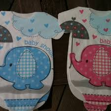 Blue Baby Shower Decorations Shop Blue Elephant Baby Shower Decorations On Wanelo