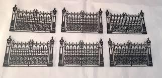 tim holtz halloween dies tim holtz die cuts gothic gate fence halloween sizzix