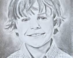 pencil sketch from photo portrait drawing custom drawing