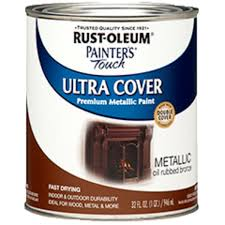 rust oleum 254101 painters touch quart oil based metallic oil