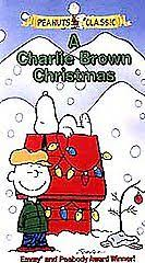 brown christmas picture peanuts classic a brown christmas vhs clamshell ebay