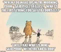 Pooh Meme - game of pooh imgflip