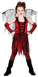 Girls Halloween Vampire Costume Halloween Girls Fancy Dress Horror Vampire Fairy Scary Kids