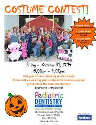 Dentist Halloween Costume Halloween Costume Contest Pediatric Dentistry Orange Park Dr