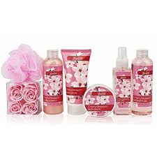 Bath And Body Gift Sets Day Gift Idea Spa Gift Basket U2013 Bath And Body Gift Set Gift Box