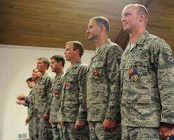 Us Army Decorations Commander Of Air Force Special Operations Presents Purple Heart