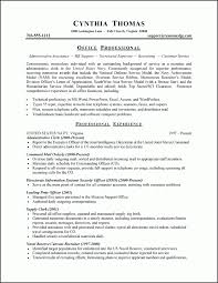 Security Job Resume Objective Objective For Resume Administrative Assistant U2013 Template Design