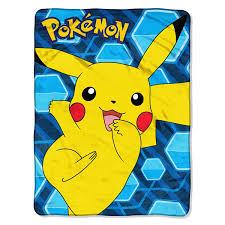 throw by the pokémon glitch pikachu micro raschel throw 46 x 60