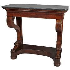 Mahogany Console Table Charles X Mahogany Console Table At 1stdibs