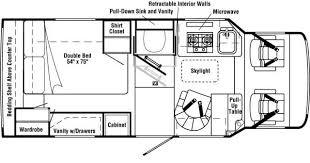 winnebago rialta rv floor plans floor plans specifications