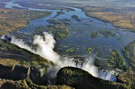 Victoria Falls Map Which Side Of Victoria Falls Is Better Zambia Or Zimbabwe