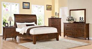Modus Furniture Low Profile Cally Bedroom Set - Bedroom sets san diego
