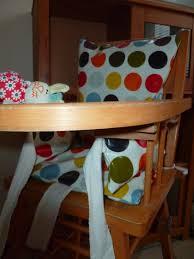coussin chaise haute avec sangle coussin de chaise haute l exosphère créative