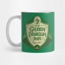 Dragon Coffee Cup The Green Dragon Inn Lord Of The Rings Mug Teepublic