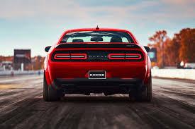 Dodge Challenger Orange - 2018 dodge challenger srt demon starts at 86 090 motor trend