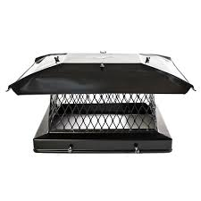 Outdoor Fireplace Chimney Cap - black chimney caps chimcare chimney caps