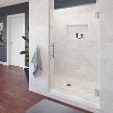 900 Shower Door Dresden Frameless 3 8 Inch Glass Swing Shower Basco Shower Doors