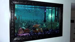 hanging wall fish tank 10 gallon fish tank all glass aquarium wall