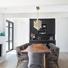 Black Built In Dining Room Bar Design Ideas - Dining room bar