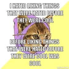 Hipster Cat Meme - hipster cat black gold review