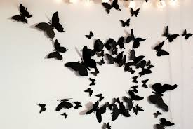 free us shipping 50 3d butterfly wall circle burst by leeshay