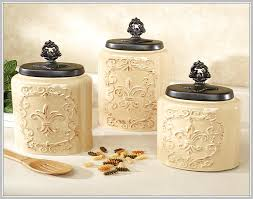 black kitchen canisters sets home design ideas