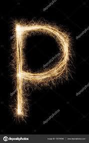 imagenes en ingles con la letra p inglés letra p del alfabeto de las luces de bengala sobre fondo