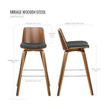 chaise de bar la redoute chaise de bar tissu chaise de bar bois stunning tabouret de bar bois