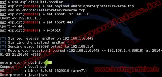 kali linux apk hack android phone with metasploit in kali linux