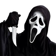 ghost face with knife accessories u0026 makeup