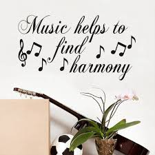 online get cheap harmony wall mural aliexpress com alibaba group music helps to find harmony wall stickers for kids room musical notes children wall decal nursery