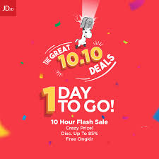 Jd Id Jd Id 1 Hari Lagi Menuju The Great Deals 10 10 Hanya Di